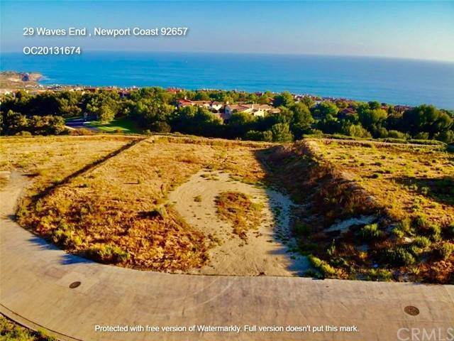 Land / Lots for Sale at 29 Waves End Newport Coast, California 92657 United States