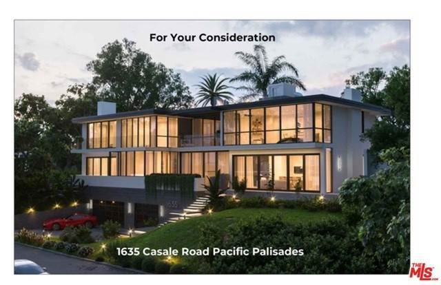 Single Family Homes for Sale at 1635 Casale Road Pacific Palisades, California 90272 United States