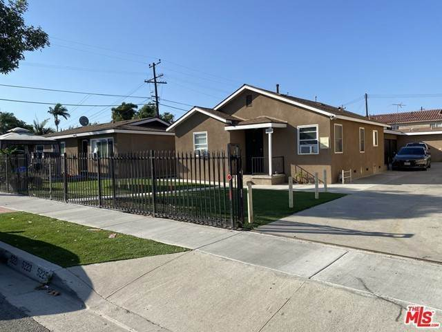 Residential Income for Sale at 5221 Elmwood Avenue Lynwood, California 90262 United States