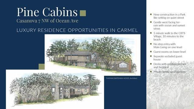 Single Family Homes for Sale at 7 NW of Ocean Carmel By The Sea, California 93921 United States