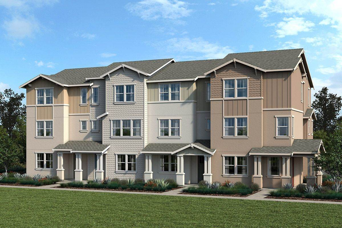 Multi Family for Sale at Atherton Place - Plan 2032 Modeled 9 Lesina Way Novato, California 94945 United States