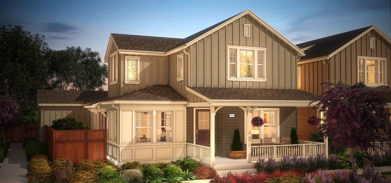 Single Family for Sale at Hamilton Cottages - Plan 4 14 Cottage Lane Novato, California 94949 United States