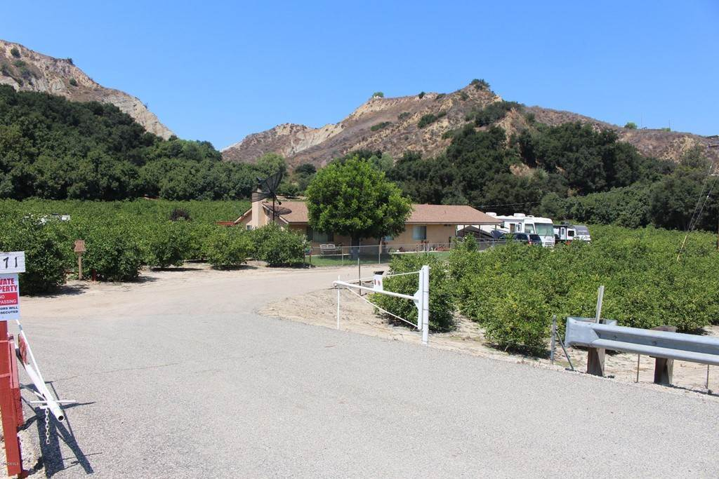Land for Sale at 1971 Grimes Canyon Road Fillmore, California 93015 United States