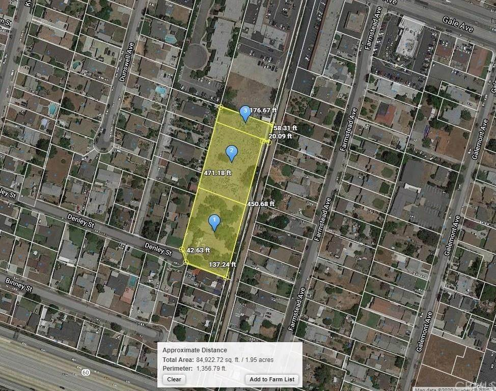 Land for Sale at 15577 Denley Street Hacienda Heights, California 91745 United States