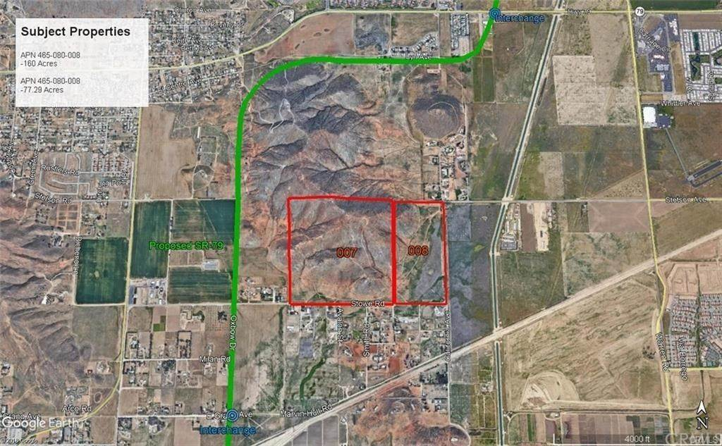 Land for Sale at 888 California Avenue Winchester, California 92545 United States