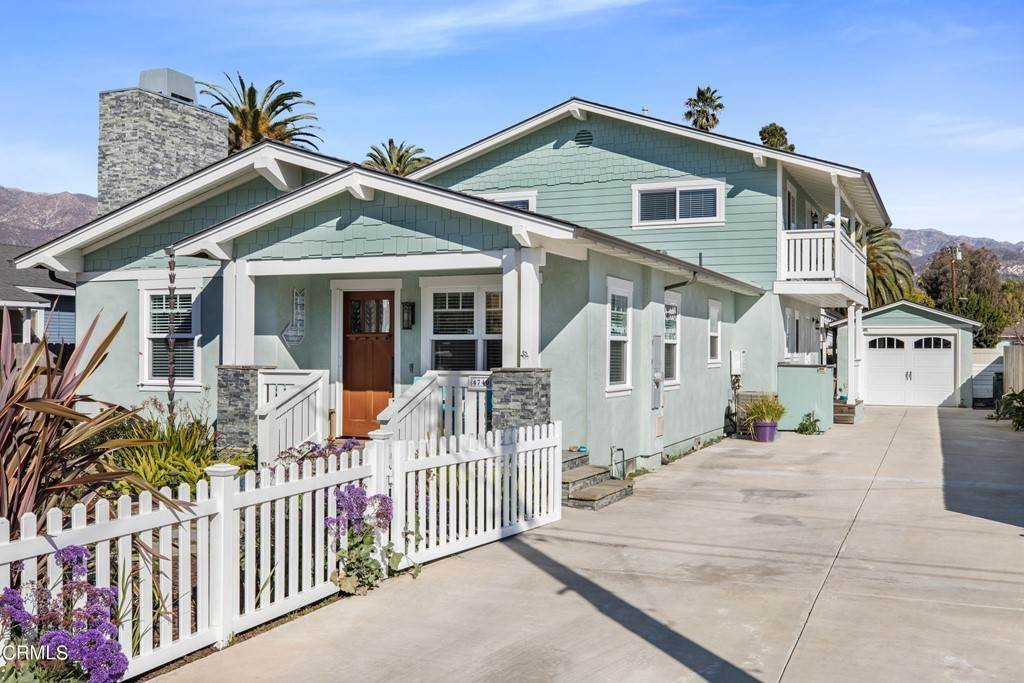 Residential for Sale at 4740 4th Street Carpinteria, California 93013 United States