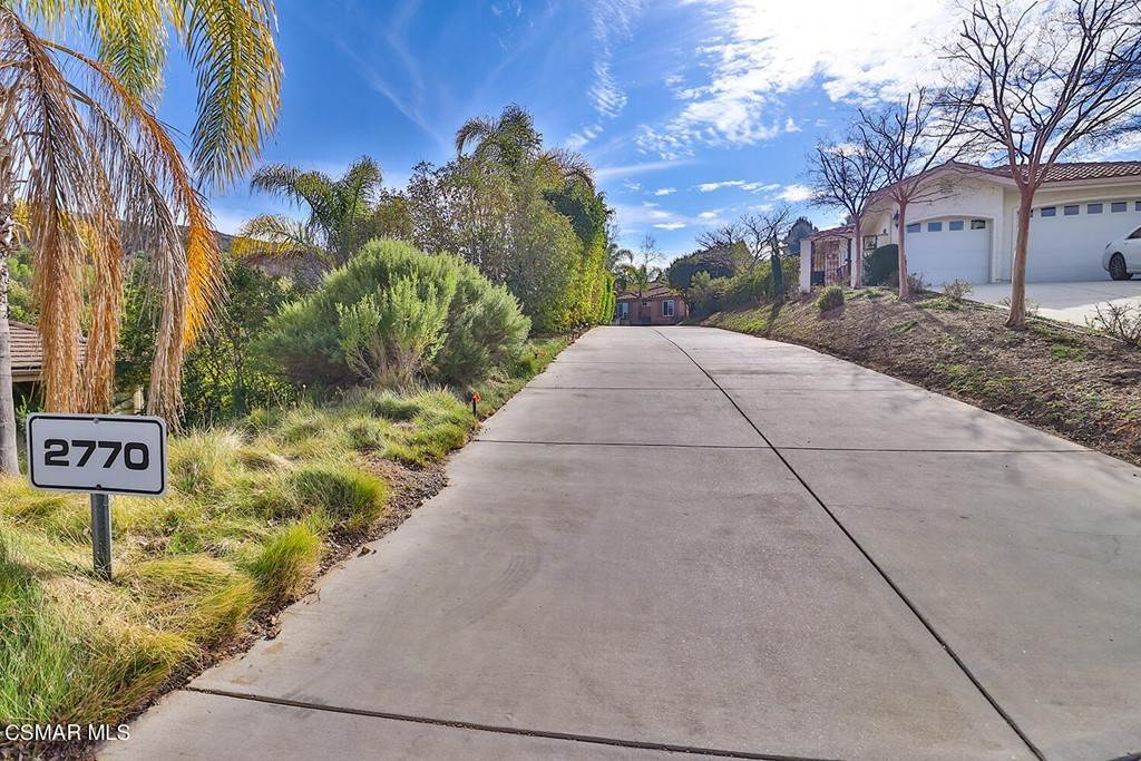 Residential for Sale at 2770 Edgeview Court Newbury Park, California 91320 United States