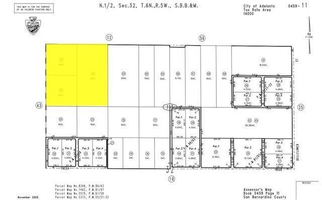 Land for Sale at Air Expressway Adelanto, California 92301 United States