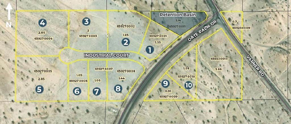 Land for Sale at 21 Date Palm Dr & Varner Road Cathedral City, California 92234 United States