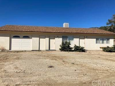 Residential for Sale at 56768 Dickson Hills Road Anza, California 92539 United States