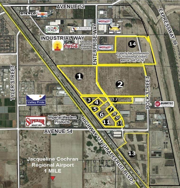 Land for Sale at Enterprise Way Coachella, California 92236 United States