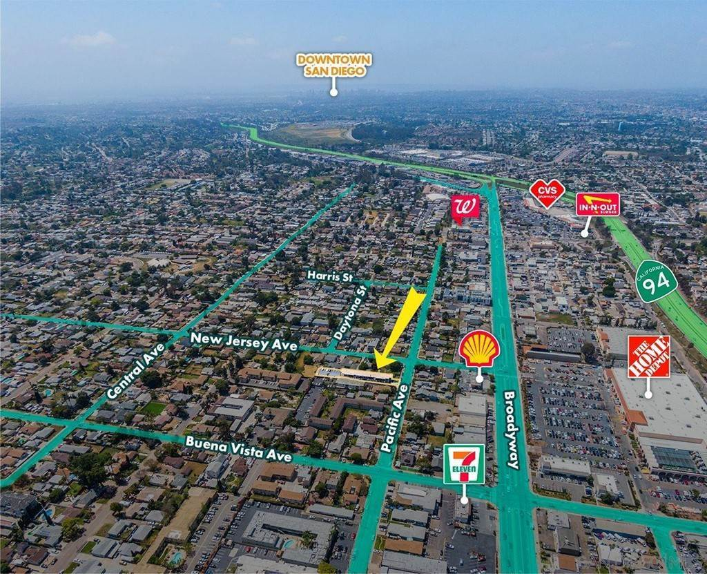 Commercial for Sale at 7525 Pacific Avenue Lemon Grove, California 91945 United States