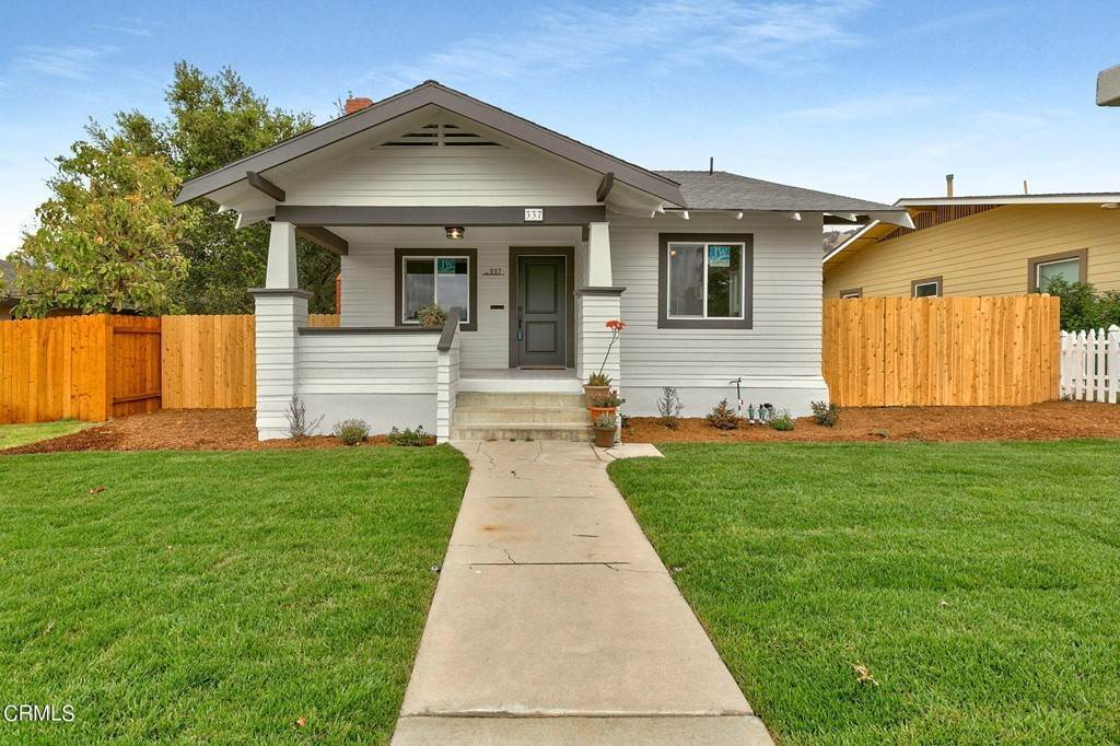 Residential for Sale at 337 3rd Street Fillmore, California 93015 United States