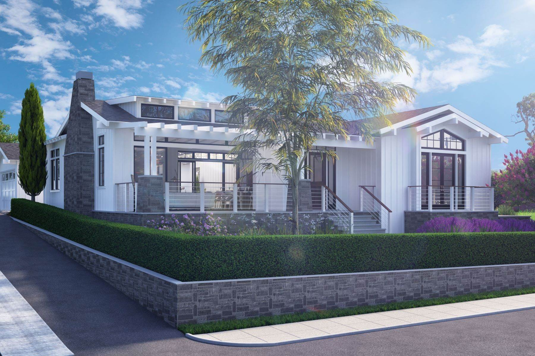 Single Family Homes for Sale at Brand New Coastal California Home 1023 Stratford Court Del Mar, California 92014 United States