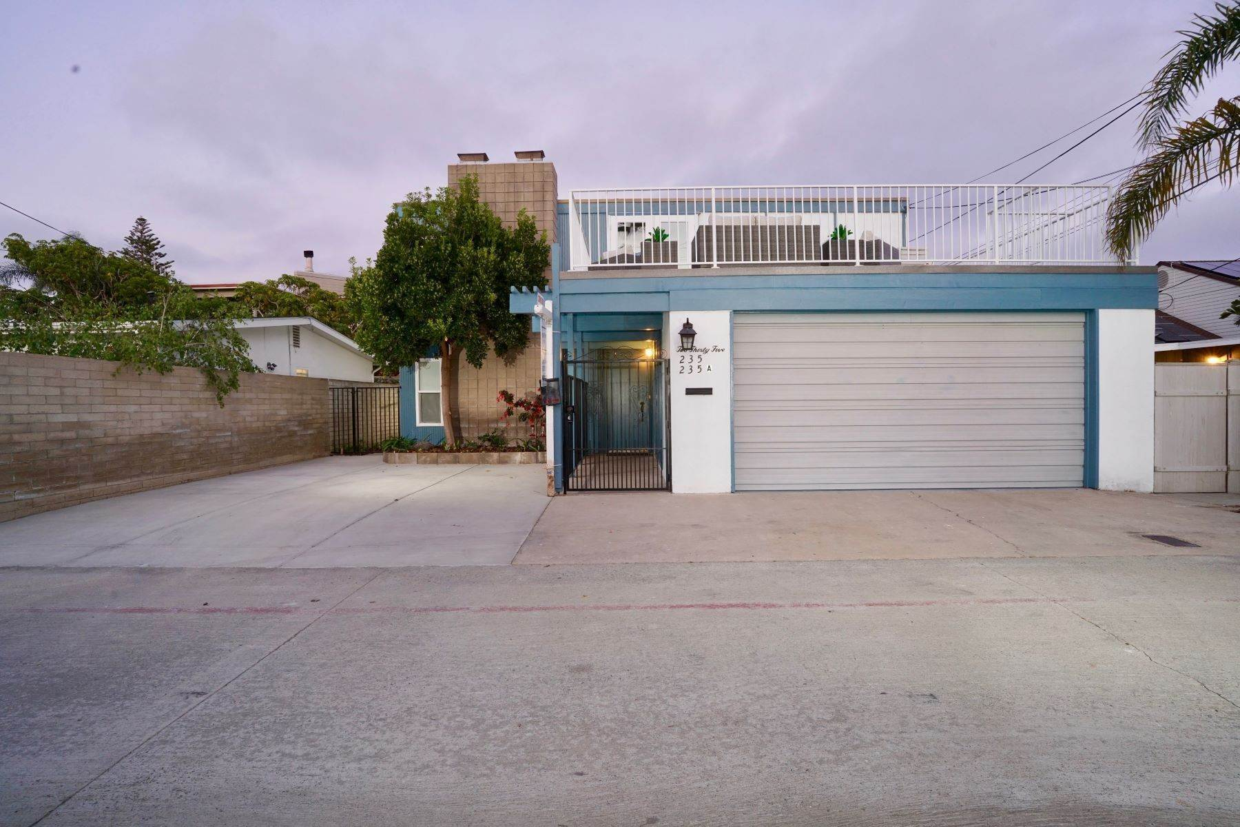 Single Family Homes for Sale at 235 El Chico Lane, Coronado, CA 92118 235 El Chico Lane Coronado, California 92118 United States