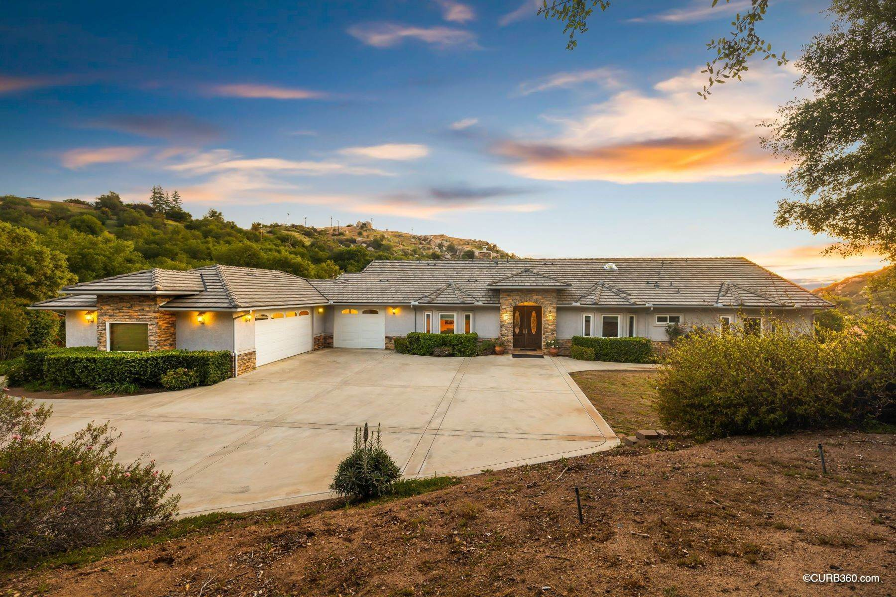 Single Family Homes for Sale at Custom Built Home on 5.84 Acres on the West End of Ramona's Wine Country! 16522 Green Valley Truck Trail Ramona, California 92065 United States