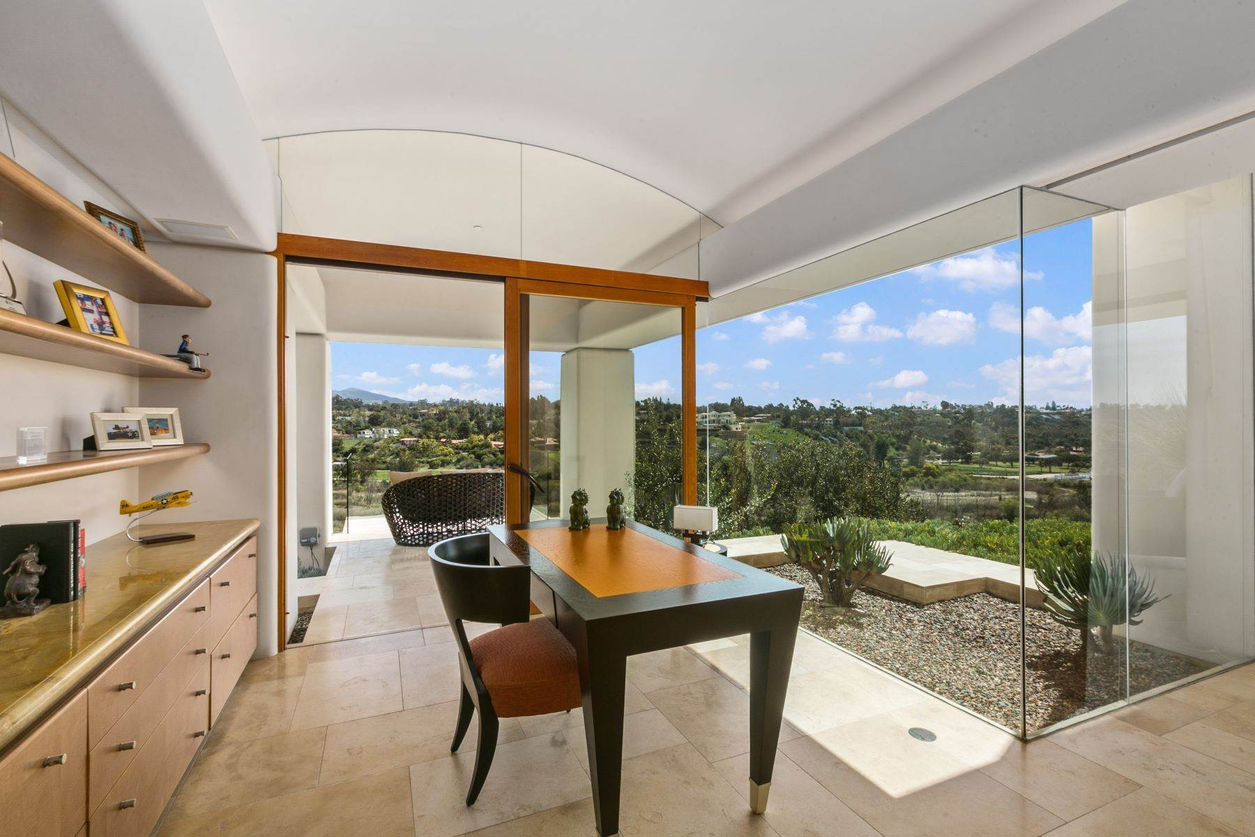 32. Single Family Homes for Sale at Wallace Cunningham's Promontory of Rancho Santa Fe! 16528 Los Barbos Rancho Santa Fe, California 92067 United States