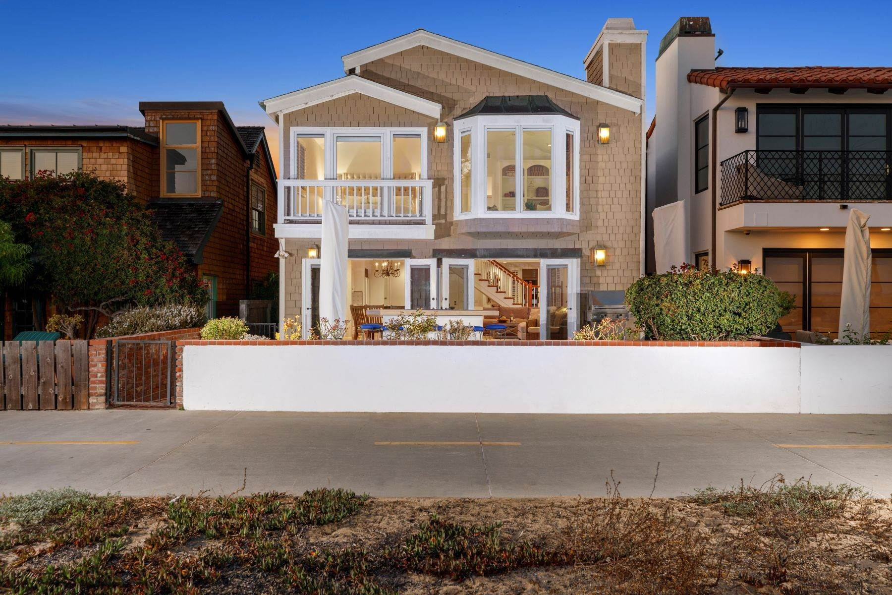 Single Family Homes for Sale at 1209 East Balboa Boulevard Newport Beach, California 92661 United States